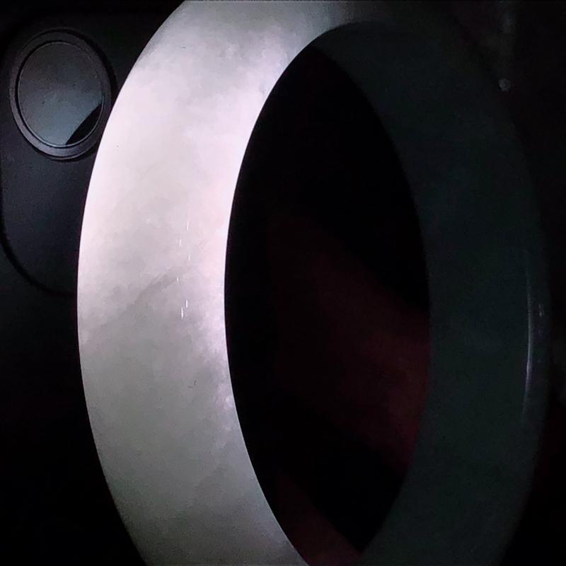 01/17黄翡翡翡翠正圈手镯 ,玉质细腻