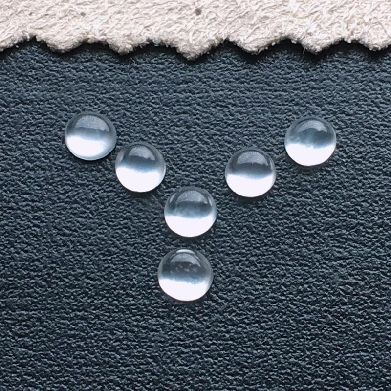 玻璃种蛋面,一起6个,小精品,自然光实拍,缅甸a货翡翠,种好通透,水润玉质细腻,雕刻精细,镶嵌佳品。